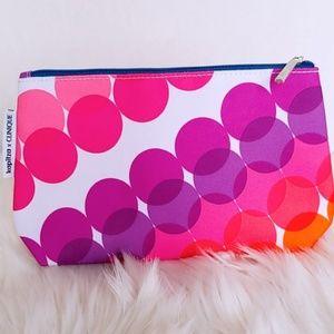 New Clinique × Kapitza collection makeup bag